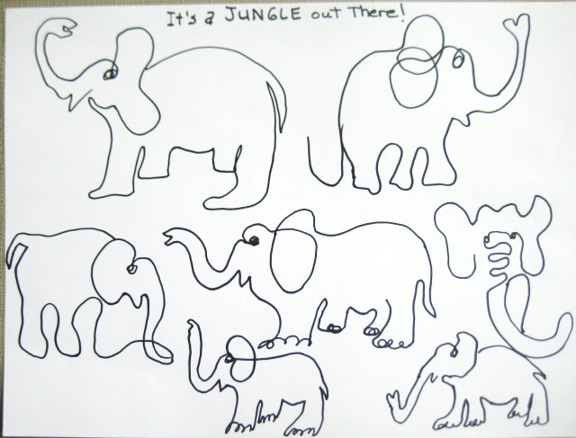 oneliner elephants